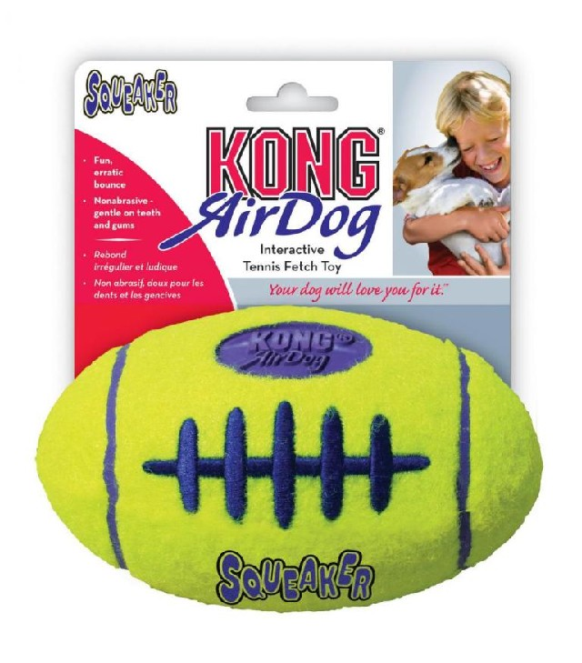 Air Kong Football plovoucí hračka pro psa S