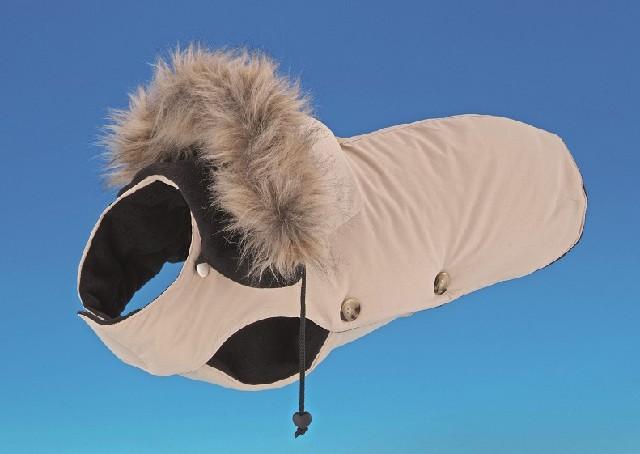 Nobby bunda pro psa TIMMY, béžová, délka 36 cm