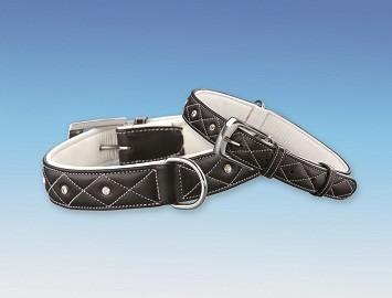 Nobby Tocho luxusní kožený obojek pro psa, délka 50cm