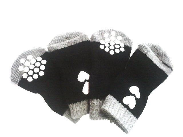 Ponožky pro psy - srdce M