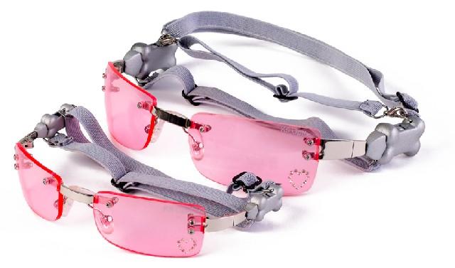 Sluneční brýle pro psy K9 Růžové S